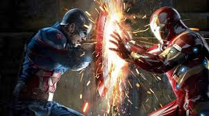 Iron Man Captain America In Avengers Infinity War