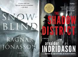 Mystery Book Club Snowblind And The Shadow District