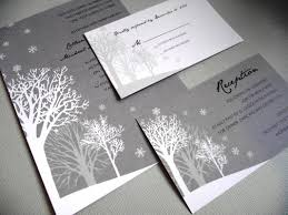 Brilliant Winter Wedding Invitations Amazing Hd
