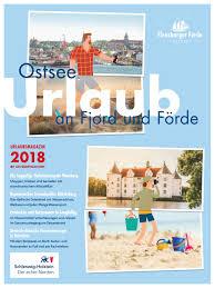 flensburger förde urlaubsmagazin 2018 by flensburger förde