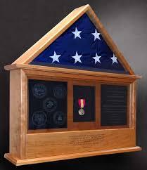 Flag Box Honoring Medical Staff