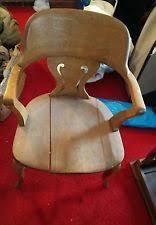 oak desk chair ebay