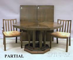 Mid Century Modern Baker Dining Table And Chairs