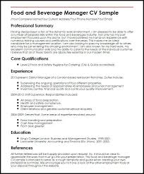 Hotel General Manager Resume Sample Assistant Examples