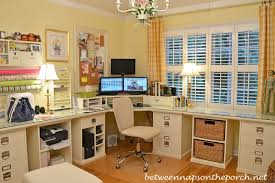 Pottery Barn Office Desk Chair by How To Design An Office With Pottery Barn Bedford Furniture And A