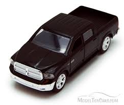 Dodge Ram 1500 Pickup Truck, Black - Jada Toys Just Trucks 97015 - 1 ...