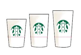 The Tray Held Any Size Cup Tall To Venti Snuggly In Place It Turns Out That All Starbucks Cups Have Same 3 Inch Diameter 34 Inches From Bottom