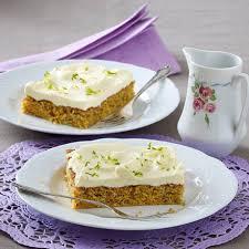 karotten nuss kuchen mit vanille frosting
