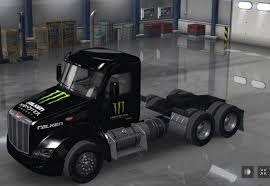 Peterbilt 579 Falken Monster Energy Mod For ATS - ATS Mod / American ... Monster Energy Truck Stock Photos And Ogio Bagster Monster Energy Trailer Standalone V10 Ets2 Mods Euro Truck Jam Wallpaper Desktop 51 Images Drivers Todd Leduc And Coty Transport Sk Toy Truck Forums Blade Aces X Jsr Mercedes Benz Racing By Vodesigns On Team Associated Energytoyota Short Course Body Rockstar Drink Spain Vs 2017 Body Style Reveal Youtube Stock Car Kyle Busch