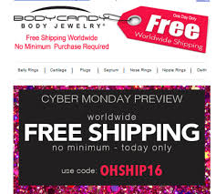 Body Candy Coupon Code 20 / Kohls Coupons 2018 Online Bodyartforms Haul Reveal Unboxing Sharing Whatever You Call It Discount Coupons For Dorney Park Pi Hut Paytm Free Recharge Coupon Code 2018 Amzon Promo Best Whosale All Over Piercings Honda Pilot Lease Deals Nj Body Foreplay Coupons Ritz Crackers Tracking Alpine Adventures Zipline Bj Membership Tractor Supply Policy Scream Zone Hot Ami Styles Buy Appliances Clearance Guild Wars 2 Jcj Home Perfect