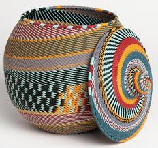 africa khamba telephone wire basket from south africa
