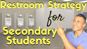 Student Bathroom Pass Ideas by Teaching Strategy Restroom Breaks For High And Middle