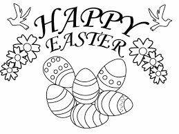 Easter Coloring Pages For Town