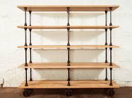 Storage & Organization Fascinating Solid Oak Wood Shelving Unit