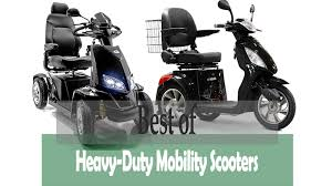Two Of The Reviewed Heavy Duty Mobility Scooters