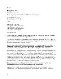 Block Style Business Letter How To Write A Reference Letter Letter