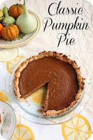 Pumpkin Pie Libbys Recipe by Classic Pumpkin Pie