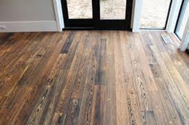 Image Of Rustic Hardwood Flooring For Walls