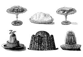 Free vintage pastry clip art illustration