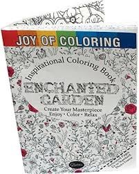 Joy Of Coloring Enchanted Gardens Book