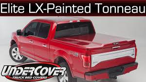 Elite LX Painted Tonneau Cover From UnderCover - YouTube