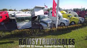 RAMSY TRUCK SALES - VENTA DE CAMIONES USADOS EN MIAMI, FLORIDA USA ... Lifted Trucks For Sale In Florida Youtube Don Baskin Dump Truck Sales And Gmc C4500 With Bed Liner Or Hino Debary Used Dealer Miami Orlando Panama Central Salesseptic For Sale Custom Beds Texas Trailers New And Commercial Parts Service Repair Motors Equipment Toyota Reports Increase October On Strong Demand Burkins Chevrolet Macclenny Fl Jacksonville Lake City