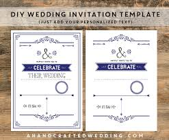 Full Size Of Designsdiy Vintage Iron Wedding Invitation Template Tutorial Plus Free Rustic