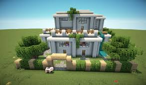 First Modern House Minecraft Project