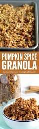 Pumpkin Flaxseed Granola Nutrition Info by Best 25 Granola Recipe Honey Ideas On Pinterest Vegan Granola
