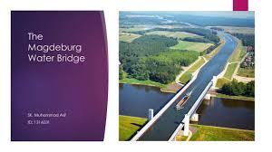 100 Magdeburg Water Bridge