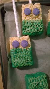 Rice Krispie Treats Halloween Theme by Mermaid Rice Crispy Treats Cute Idea For A Mermaid Inspired