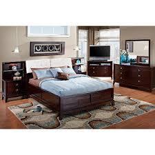 spiga 5 pc queen bookcase bedroom rooms to go bedroom sets
