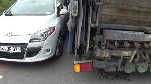 Dutch Garbage Truck Hit By German Car In Sint Maarten , Holland ...