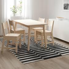 stockholm teppich flach gewebt handarbeit gestreift schwarz elfenbeinweiß 170x240 cm