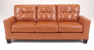 Ashley Furniture Light Blue Sofa by Buy Ashley Furniture 2700238 Paulie Durablend Orange Sofa