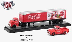 100 Coke Truck Amazoncom M2 Machines 1956 Ford COE 1956 Ford F100