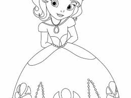 All Disney Princess Coloring Pages Free Large Images