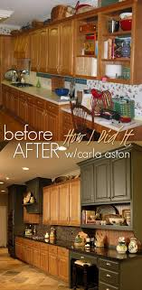 Painting Wood Kitchen Cabinets Ideas What To Do With Oak Cabinets Designed Kitchen Remodel