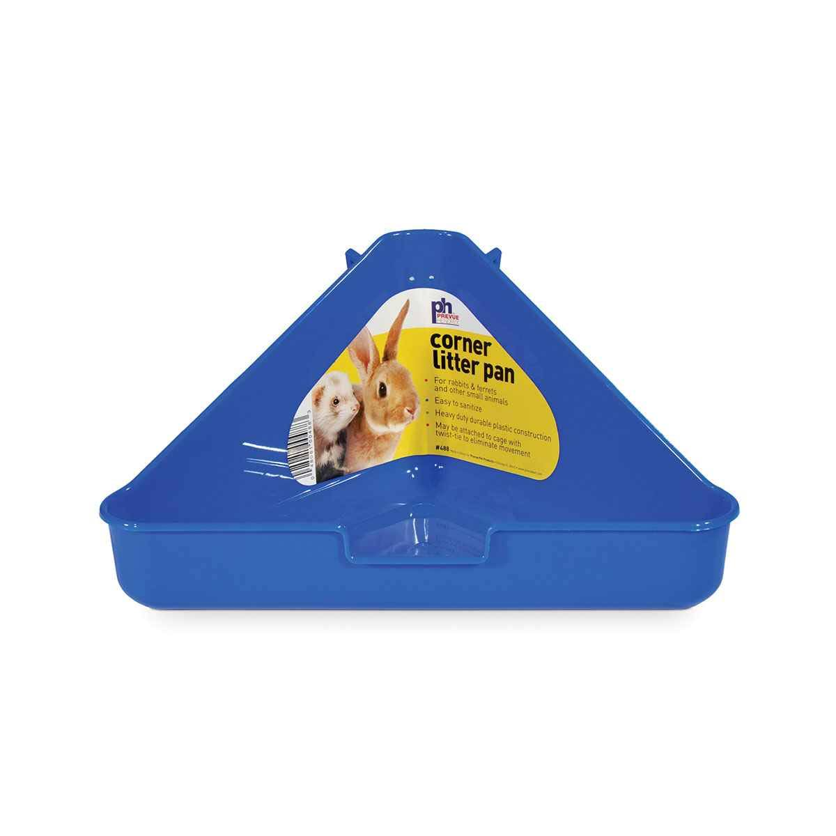 Prevue Rabbit-ferret Corner Litter Pan