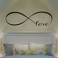 ecloud shop wandtattoo of personalized infinity symbol schlafzimmer wandtattoo schlafzimmer dekor zitate vinyl wand aufkleber