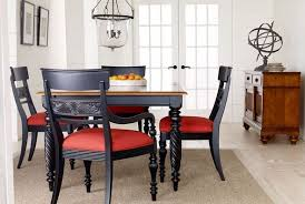 Ethan Allen Dining Room Furniture by Update Our British Classics Dining Room By Adding Black Dining