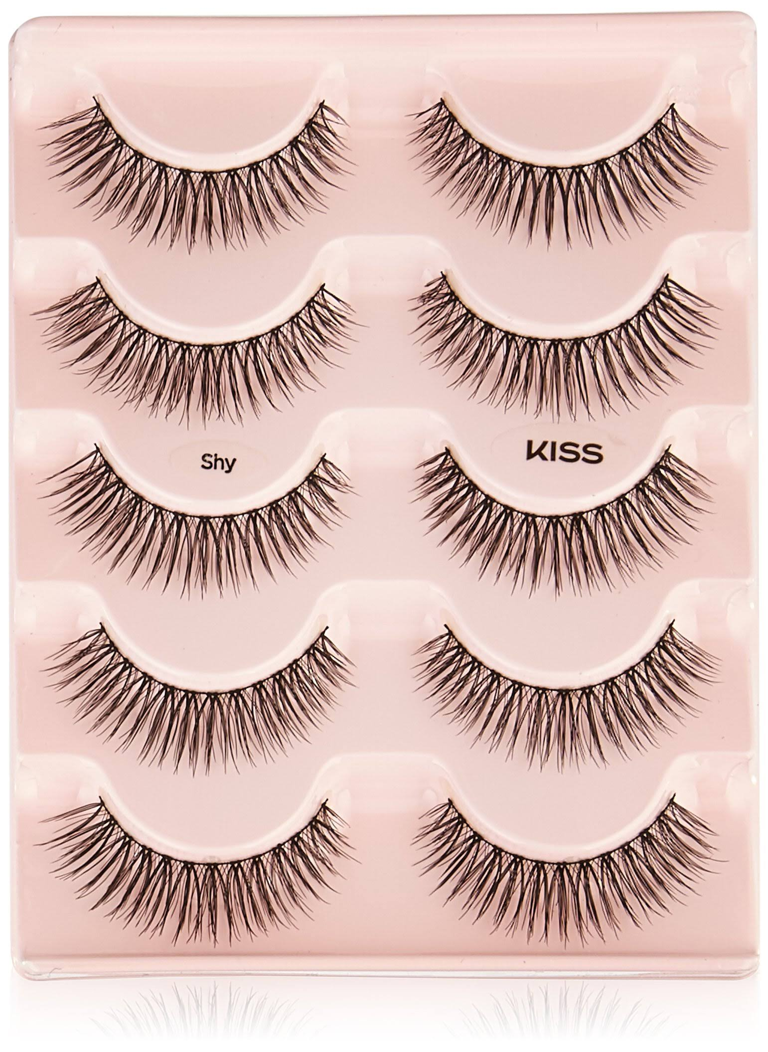 Kiss Looks So Natural Shy False Eyelashes - 5pcs