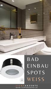 einbauspot oh34 weiß ip44 runde badezimmerspiegel