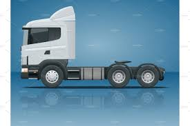 100 Truck Tractor Tractor Or Semitrailer Truck Cargo Delivering Vehicle
