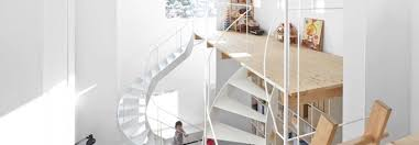 100 Loft Style Home Case House A Daring With Playful Twisting Staircases