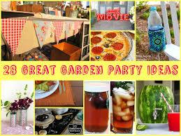 28 Great Garden Party Ideas