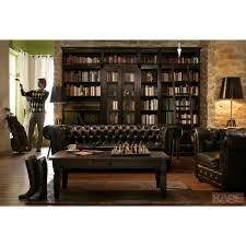 cabana bibliothek breit shop landhaus look chesterfield