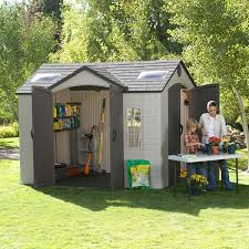 Shed Design Plans 8x10 by Lifetime Brighton 10 U0027 X 8 U0027 Side Entry Shed