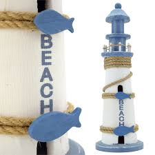 kolekcje figur leuchtturm aus sand 9x5x16cm neu dekofigur