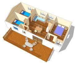 les 3 chambres mobil home villa 6 3 chambres tv cing est